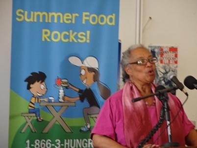 Linda Moore, Founder, Elsie Whitlow Stokes Community Freedom Public Charter School