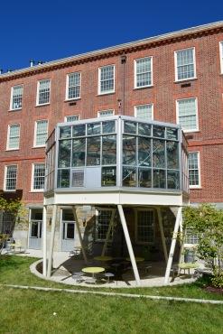 Wilson HS' greenhouse