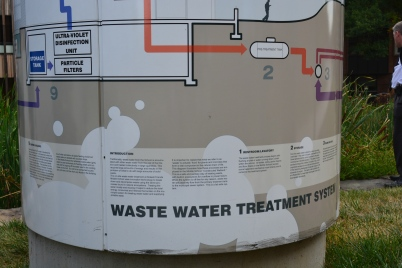 SIdwell Friends' waste water treatment system