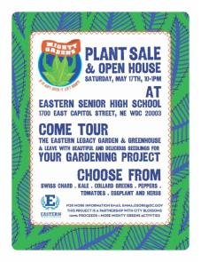 Plant Sale & Open House at Eastern Senior HS