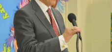 mayor gray at podium